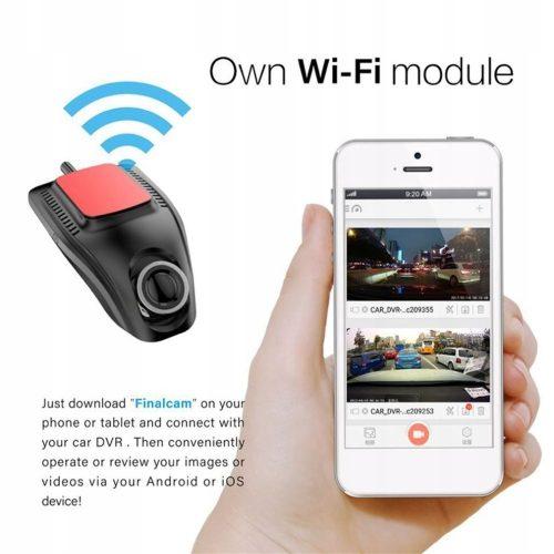Kamera Samochodowa Rejestrator samochodowy WIFI