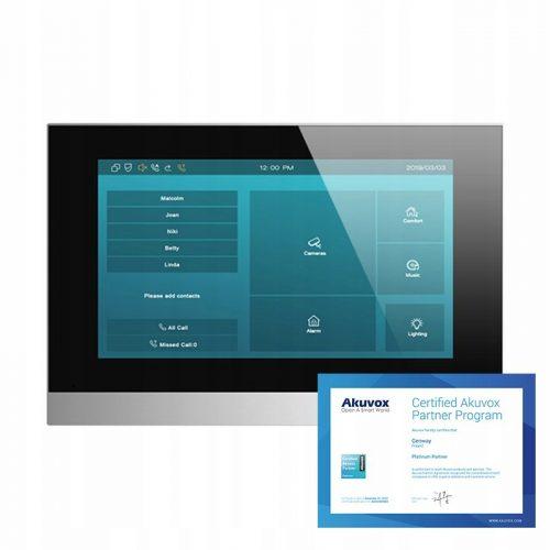 Akuvox C313S – Monitor wideodomofonowy IP 7″