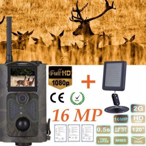FOTOPUŁAPKA kamera LEŚNA GSM FULL IR SMS MMS 16MPX