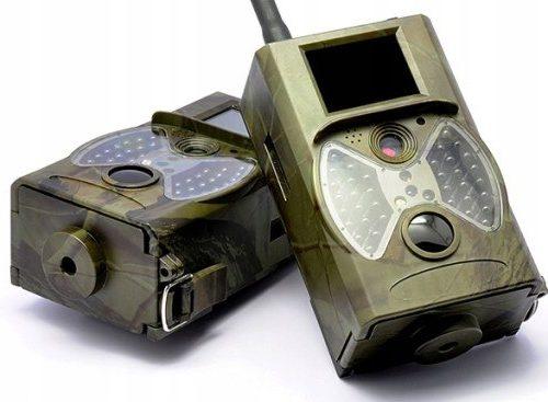 Kamera Leśna fotopułapka MMS 3G GSM +SIM +Baterie