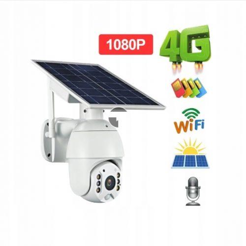 KAMERA 100ZPRZEWODOWA GSM LTE OBROTOWA SOLARNA