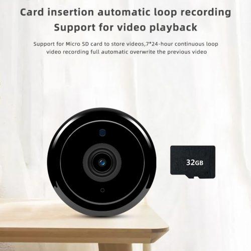 kamera WIFI szpiegowska na baterie z Podglądem