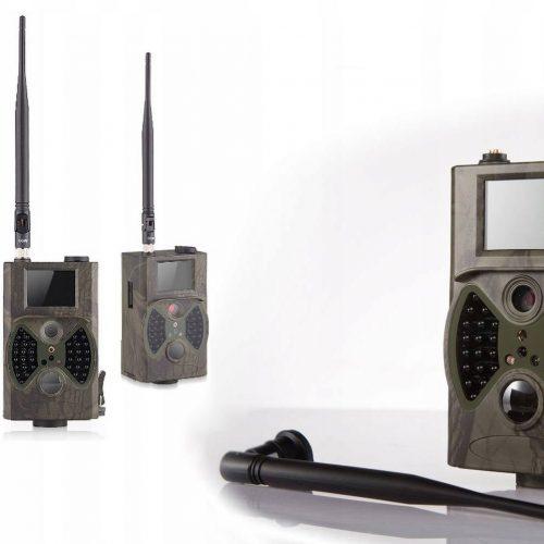 Kamera fotopułapka na budowę MMS 3G GSM + SIM
