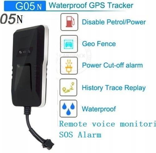 GPS TRACKER GPS DO ŚLEDZENIA POJAZDÓW G05N