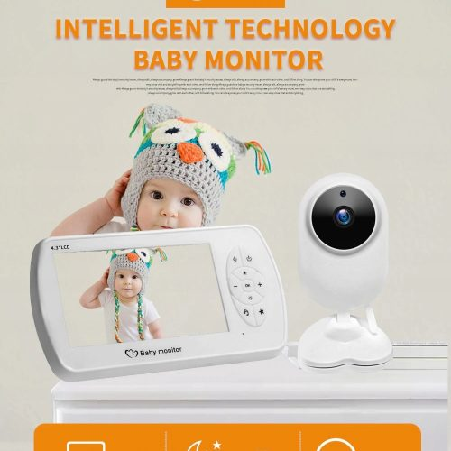 baby monitor Elektroniczna Niania do opieki 4,3cal