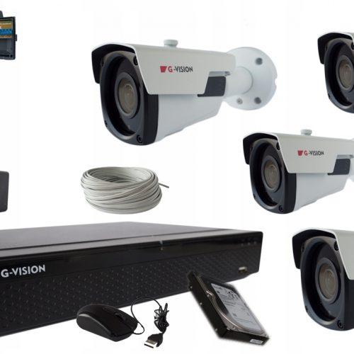 KAMERY CCTV 4KAMERY 5MPX IR60 2,8-12mm Zewnętrzne