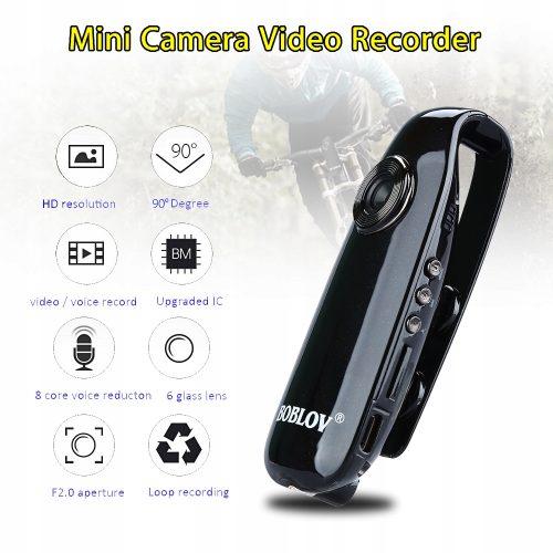 Kamera osobista dla służb lub ochrony, hotelarza
