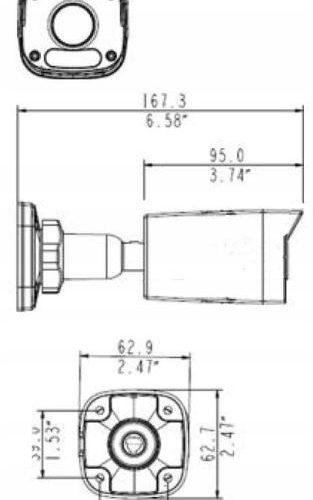 BCS-P-415R-E-II BCS POINT KAMERA MEGAPx IP 5MPX