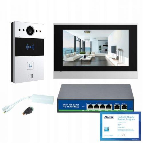 Akuvox – Zestaw wideodomofonowy IP jednorodzinny S