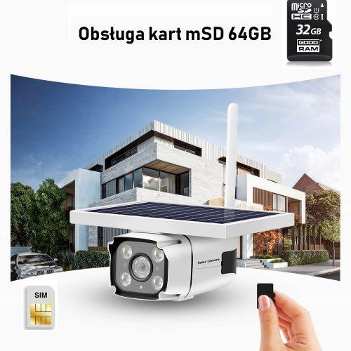 Kamera bez kabli bez WIFI na baterie Internet GSM