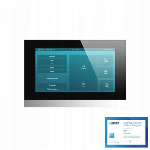 AKUVOX C315W – Monitor 7″ Android z WiFi