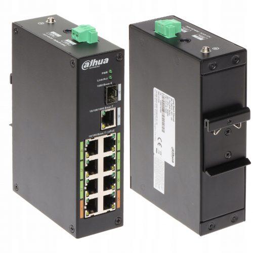LR2110-8ET-120 Dahua switch przemysłowy 8 portów