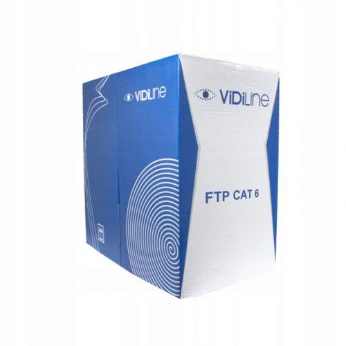 KABEL SKRĘTKA FTP CAT 6 DRUT CCA HQ – 305m