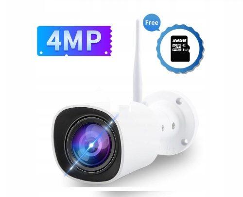 Bezprzewodowa kamera Wifi 4mpx Kolorowy Obraz Nocą