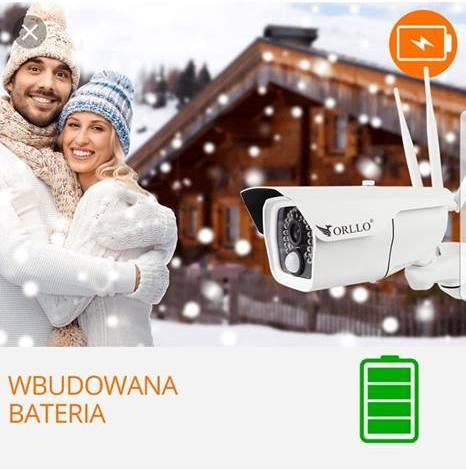 Kamera bezprzewodowa solarna GSM 4G+ panel Solarny
