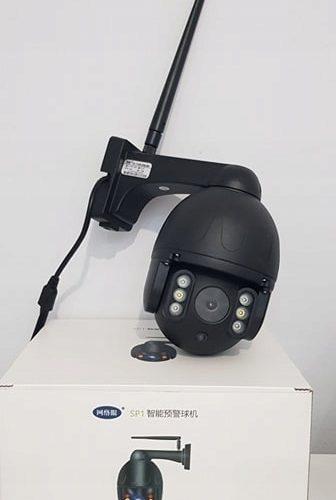 8MPX 4K KAMERA OBROTOWA WIFI PTZ Auto Tracking