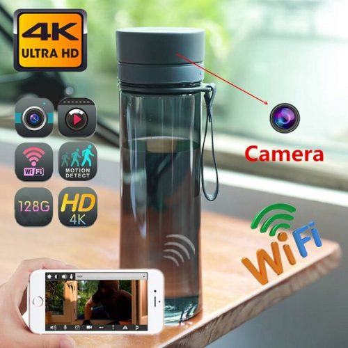 Kamera kamerka ukryta szpiegowska butelka WiFi