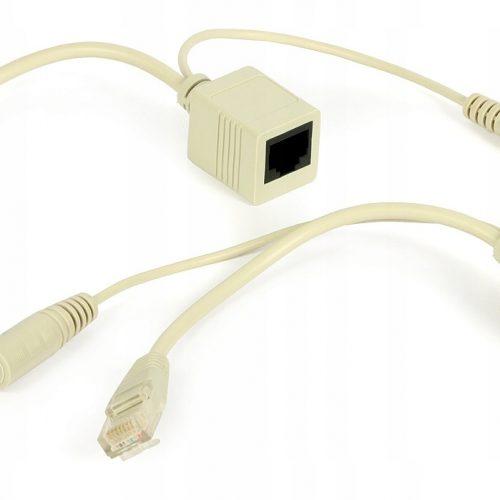 Adapter PoE dla sieci LAN z przyłączami