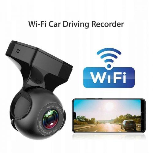 wideorejestrator samochodowy kamera FHD Wifi 1080p