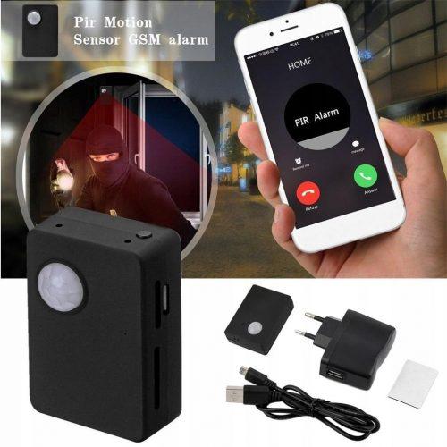 Czujnik ruchu z powiadomieniami sms z kamerą HD