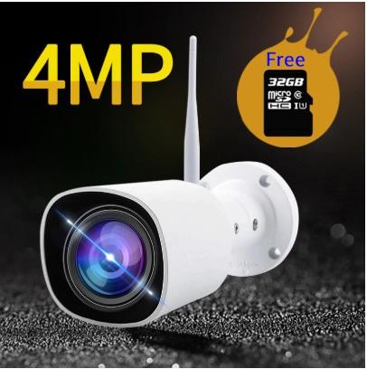 Bezprzewodowa kamera Wifi 4mpx 2560×1440 Audio/mic