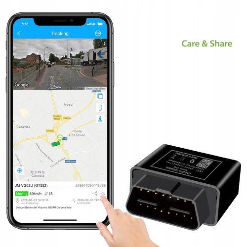 GPS Plug Play do samochodów OBD śledzenie online