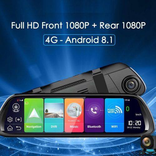 Rejestrator samochodowy Kamery LUSTERKO Android 4G