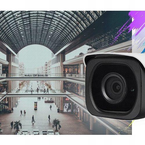 BCS TIP4801AIR-IV Kamera tubowa 8Mpx PoE WDR