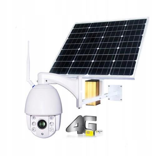 Kamera bezprzewodowa FHD Gsm LTE z baterią Solarną
