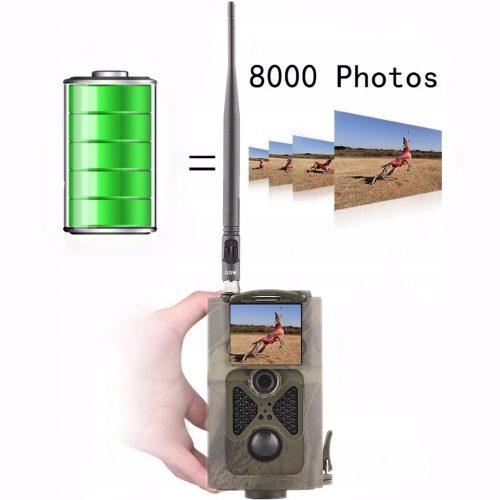 Kamera fotopułapka SMS MMS 3G GSM +SIM PIR IR20m