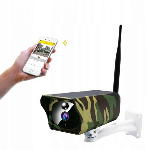 Kamera Solarna WIFI full HD 1080P kamera leśna
