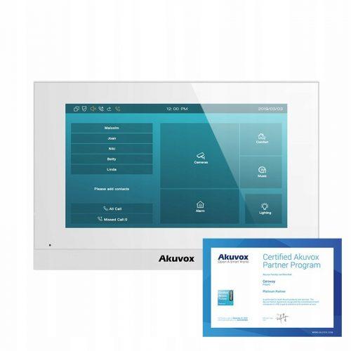 Akuvox C315W – Monitor wideodomofonowy IP 7″