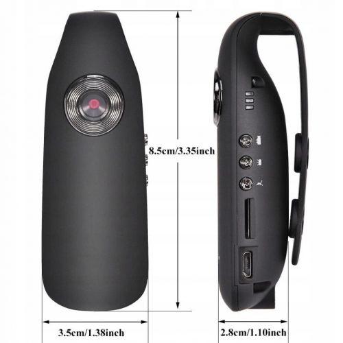 PROFESJONALNA Kamera nasobna MONITORING osobisy