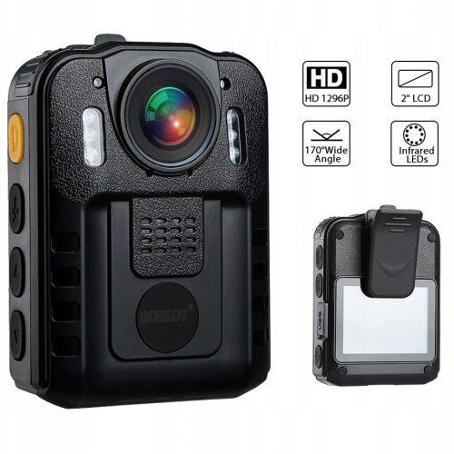 PROFESJONALNA Kamera nasobna dla służb FULL HD